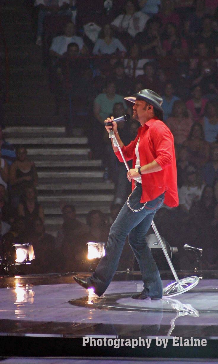Tim McGraw concert.