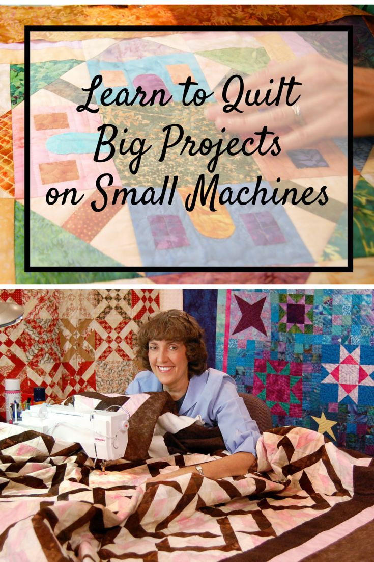 Save big on this online quilting class from Craftsy! Learn five machine-quilting methods while tackling a common challenge: how to quilt large projects on your home sewing machine!