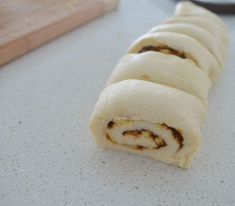 Vegemite and Cheese Scrolls Thermomix