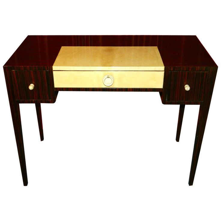 104 best art deco desks bookcases desk chairs office for Art deco writing