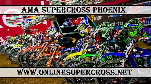 Watch AMA Monster Energy Supercross live streaming at the University of Phoenix Stadium, Glendale, AZ
