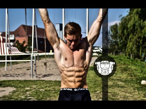Top 3 Abs Exercises (Bar) - Calisthenics - Bar Brothers DK - YouTube  #abs #workout