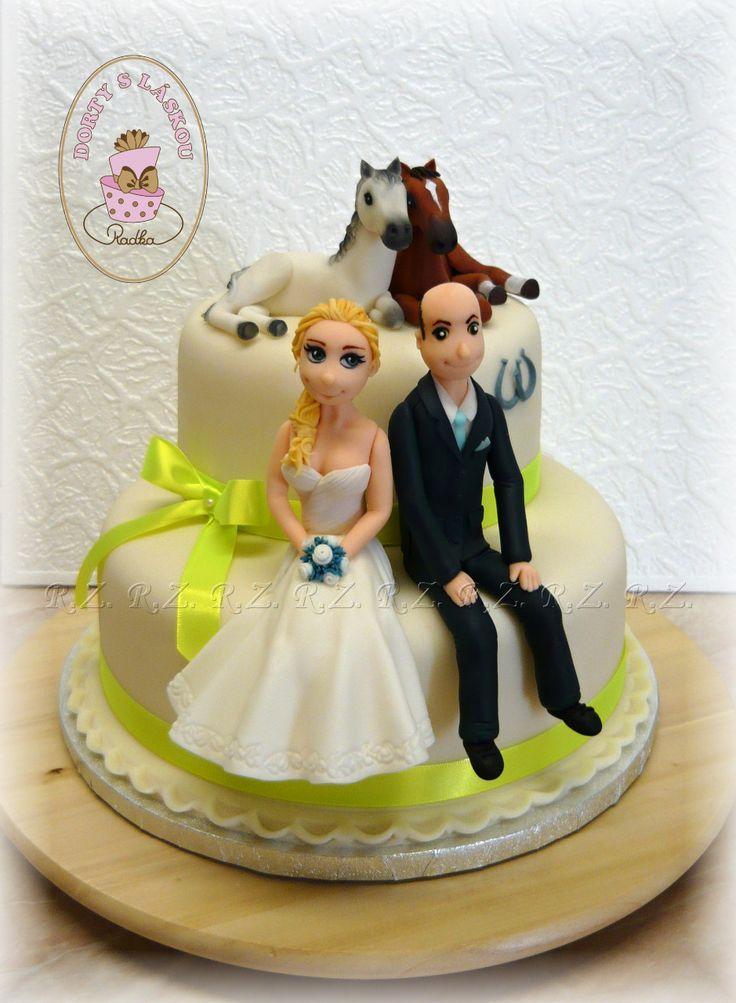Svatební dorty :: Radka - Dorty s láskou