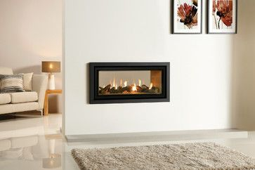 Gazco Studio Duplex Double Sided Gas Fireplace - modern - fireplaces - manchester UK - HotPrice.co.uk