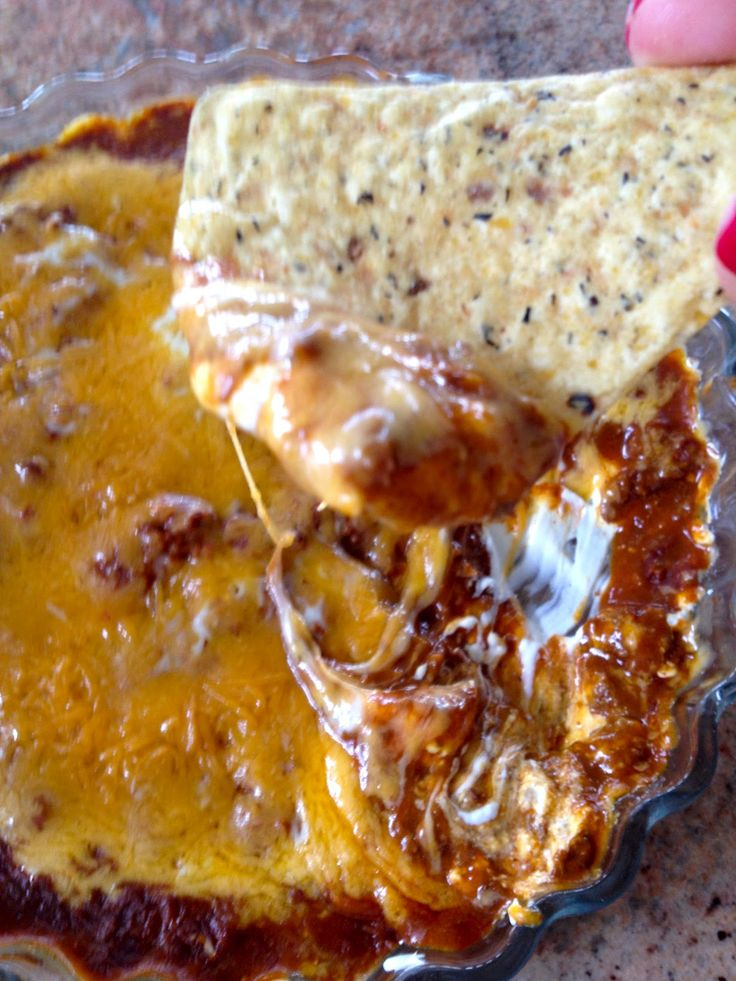 Kiss My Apron: Taco Dip with Chips