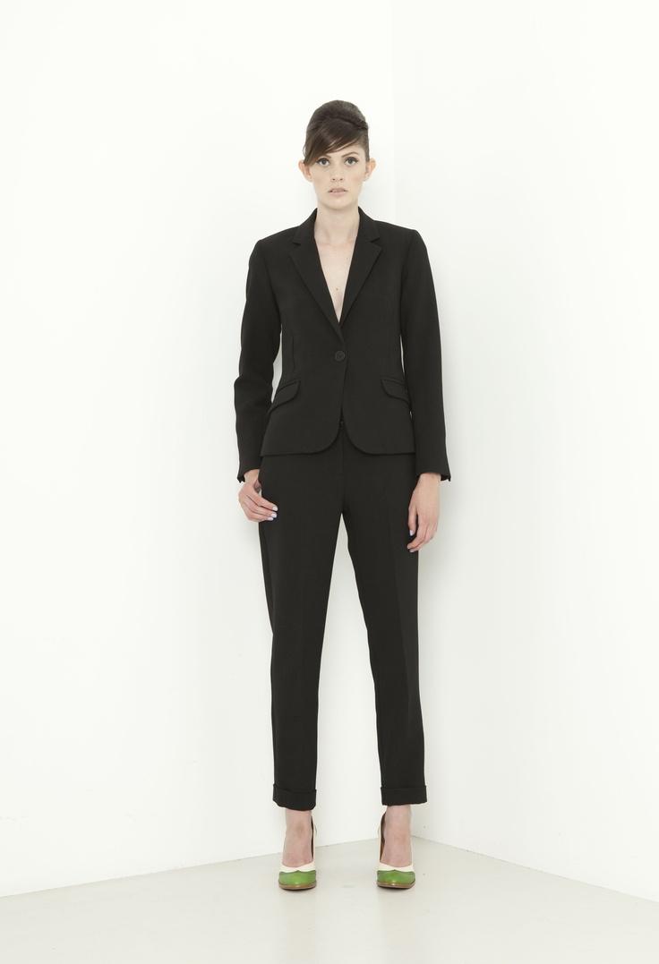Mod Jacket - black  Garcon Pant - black