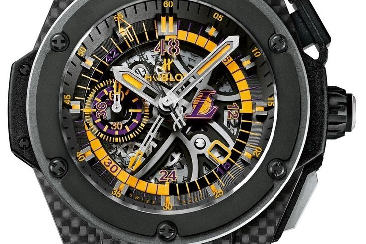 Post Title: Hublot King Power Los Angeles Lakers Watch Date: November 6, 2014, 2:30 am Post URL: http://feedproxy.google.com/~r/Ablogtowatch/~3/HwNZd4haFcA/