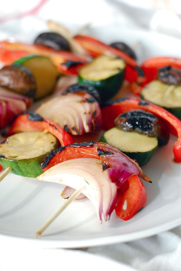 #Ad Marinated Grilled Vegetables: A Healthy Summer Side