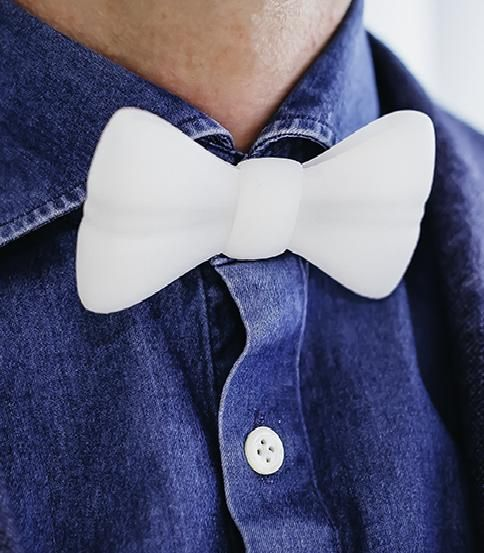 Shirt Button Bow Tie