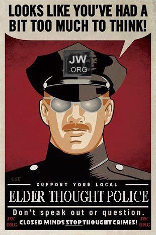 I'm no longer policed! I'm free!