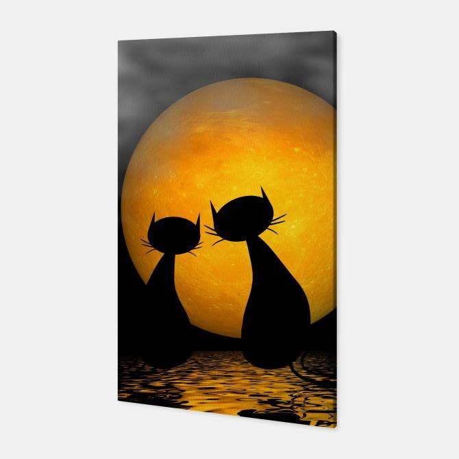 mooncat's evening Canvas, Live Heroes