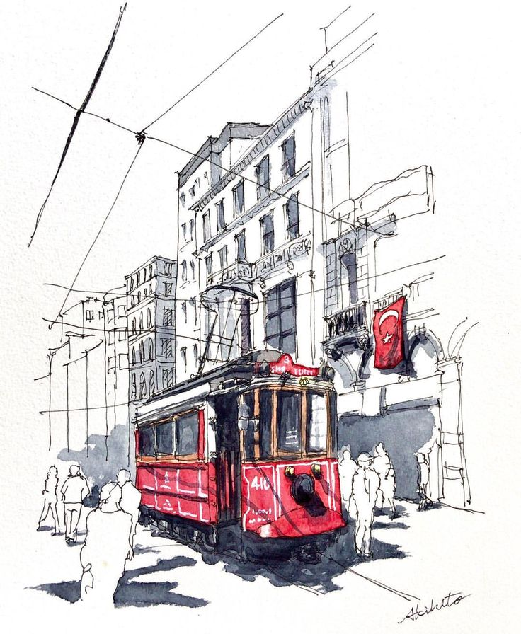 3,016 отметок «Нравится», 54 комментариев — watercolor@horiaki2 (@horiaki2) в Instagram: «トルコ・イスタンブール -- Istanbul , Turkey #水彩画 #透明水彩 #スケッチ #watercolor #watercolour #watercolorsketch…»