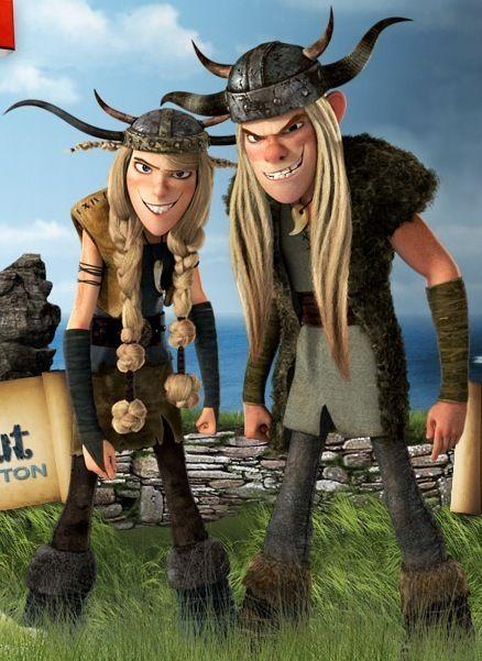 Ruffnut & Tuffnut - famous-twins