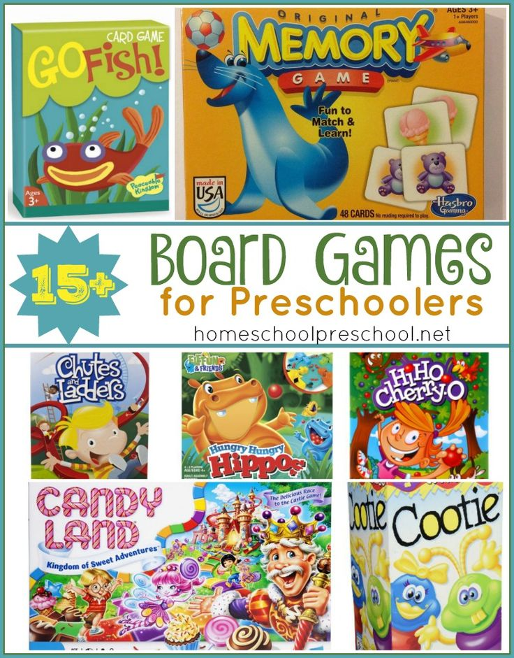 Gear up for family game night with these preschool board games. This is the perfect preschool gift guide. | homeschoolpreschool.net
