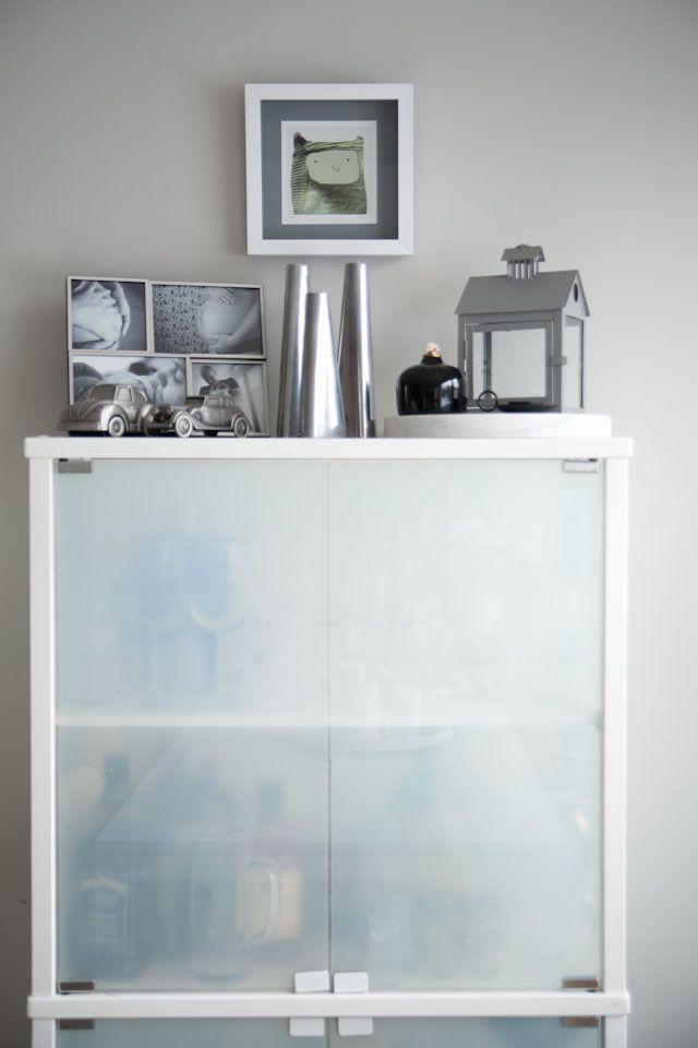 Glas cupboard