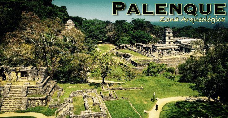 メキシコの遺跡の中でもおススメの一つパレンケ遺跡