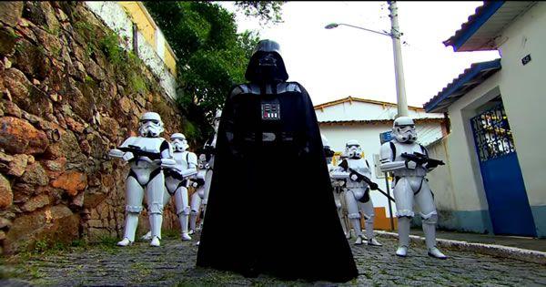 Pegadinha do Star Wars no Silvio