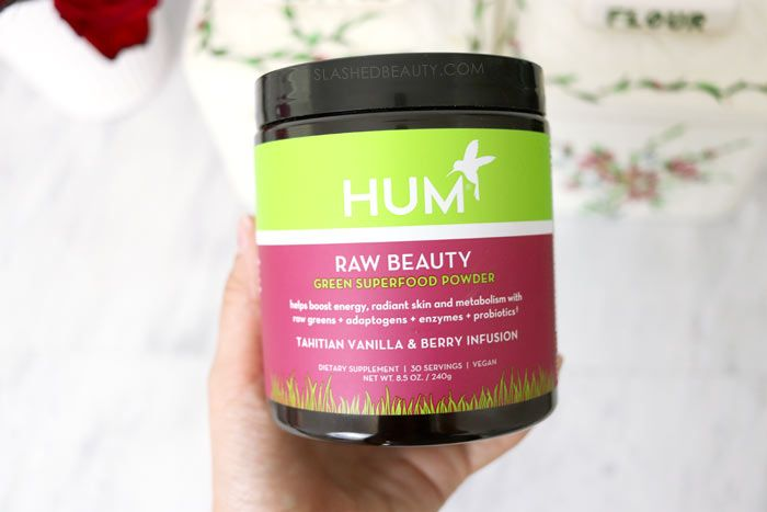 Review Hum Raw Beauty Green Superfood Powder Slashed Beauty Green Superfood Powder Raw Beauty Beauty
