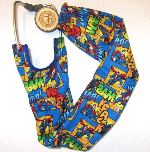 Estetoscopio cubierta de Superman