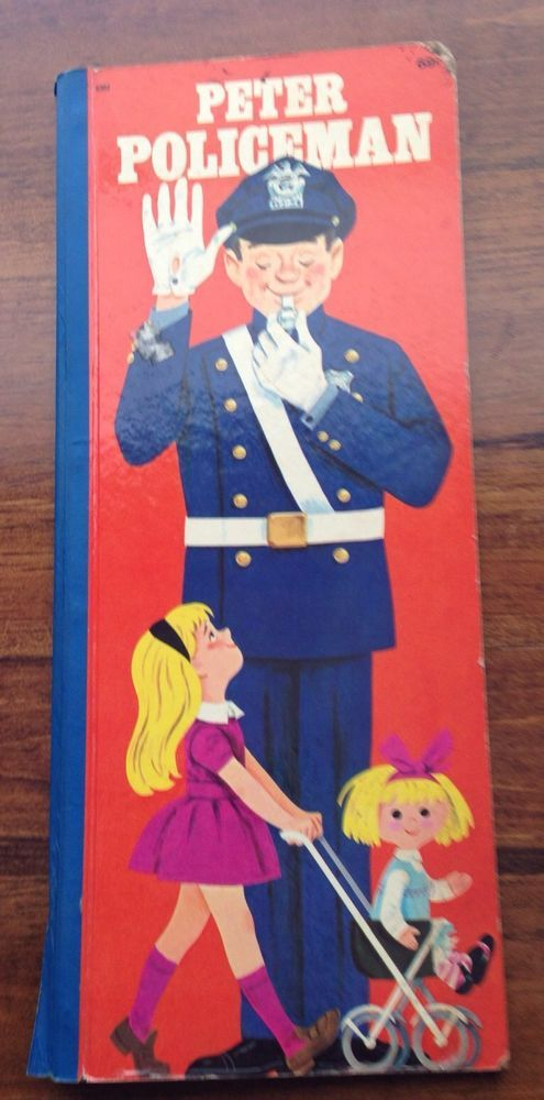 VINTAGE PETER POLICEMAN by CRAIG PINEO GOLDEN PRESS WESTERN PUBLISHING CO. 1968