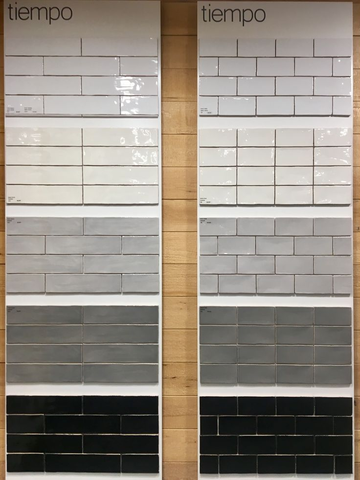 Tiempo Wall Tile S 3x12 And 3x6 5 Colours Subway Tile Showers Wall Tiles Bathtub Surround