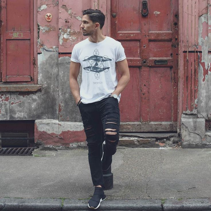 @asos_chris wearing Our New Zing Zang Wales Organic T-shirt.  A must have t-shirt this summer.