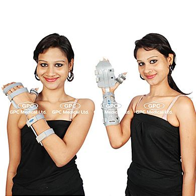 Thumbs Up Splint: GPC Medical Ltd. - Exporter, Manufacturers & Supplier of Thumb splints, thumb support splint, thumbs up splint, thumb spica splints from India.