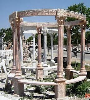 Italian stone gazebo dream garden landscape pinterest dream garden garden landscaping - Gazebo pergola designs dream spot ...