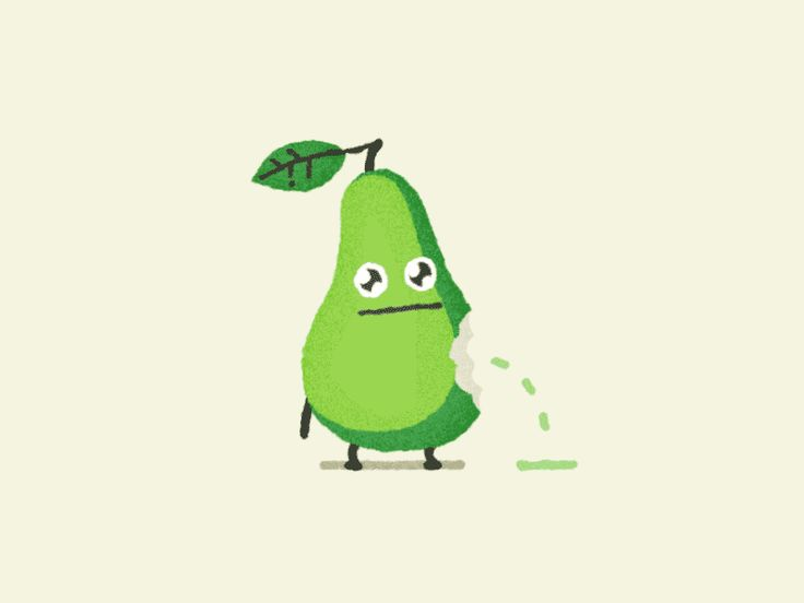 Grow a Pear by Jonas Mosesson #Design Popular #Dribbble #shots