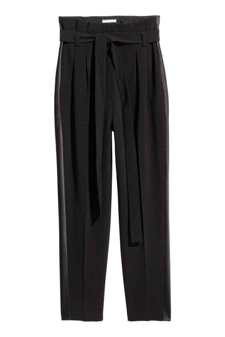 Pantalon de smoking - Noir - FEMME | H&M CA