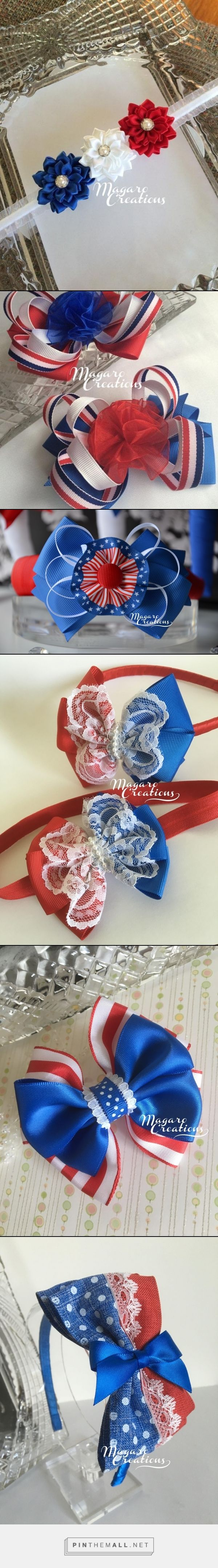 Patriotic hair accessories,4th of July headband,patriotic hair bows,holiday headband,girl headband,toddler headband,bow headband,bow tie headband,infant headband,baby headband. What a cute way to celebrate the Independence Day!!!!! - created via https://pinthemall.net
