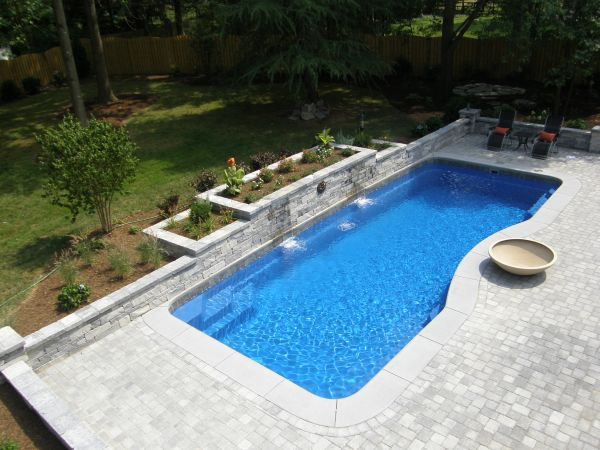 Inground Pool Ideas For Slopes Complete List Of
