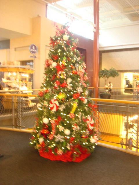 This beautiful Christmas tree was photographed, at Stonecrest Mall, in Lithonia, GA.