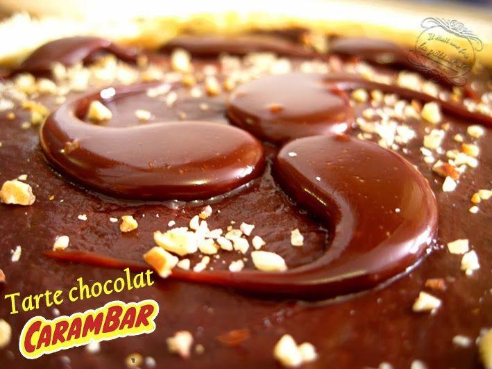 Tarte chocolat carambar