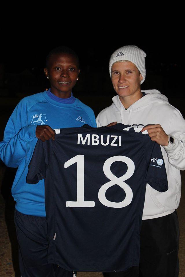 JVW FC - Janine Van Wyk and Nompumelelo Nyandeni