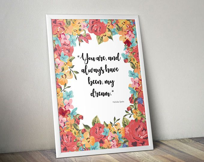 Always Quote | Quote About Love | Bride Art Print | Gift for GF | Wedding art poster | Reception Sign | Newlywed Sign | Wedding Reception