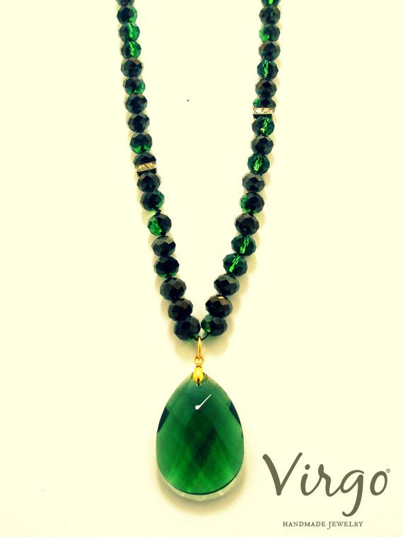 Handmade Crystal Bead Swarovski Strass and CrystalElement Necklace.  Size: approx. 100cm  We can resize for you, all of our jewelries, so feel free to ask!  Τhe necklace comes in a gift box!  Do you like this item? See more at: https://www.etsy.com/shop/VirgoHandmadeJewelry  Like us on Facebook:  https://www.facebook.com/VirgoHandmadeJewelry  or   follow us on Pinterest: www.pinterest.com/VirgoJewelry   Thanks for stopping by - Virginia