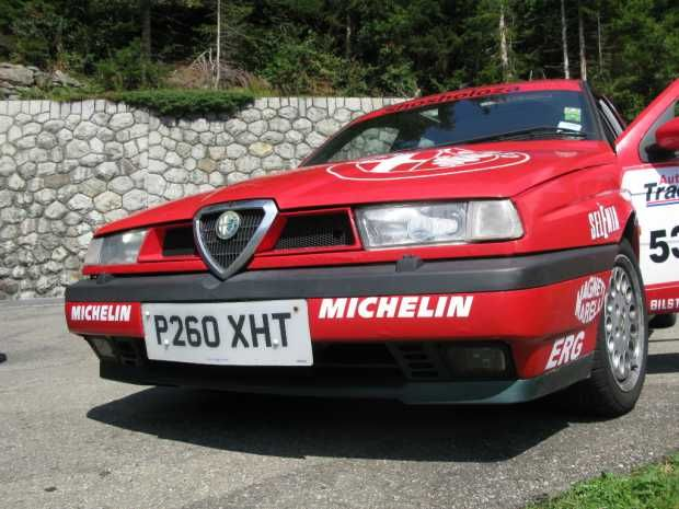 Lapping the Nurburgring in an Alfa Romeo 155