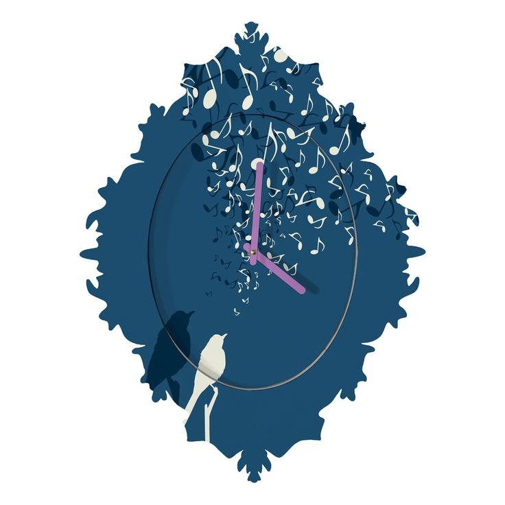 Belle13 Love Song Baroque Clock