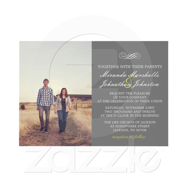 37 best Wedding Invitations Save the Date images on Pinterest