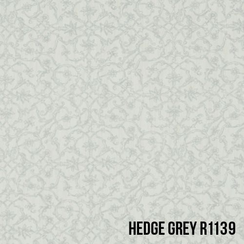 50 Shades of Grey Wallpaper! Small scale ornamental damask print wallpaper. #wallpaper #grey #shade