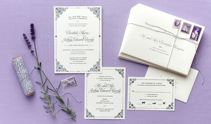 Stationery: Anticipate Invitations - anticipateinvitations.com  View entire slideshow: How to Address Your Wedding Invitations on http://www.stylemepretty.com/collection/207/
