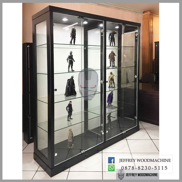 display cabinet, lemari pajangan, lemari pajang kaca, toys, jeffrey woodmachine, rak pajang, toys, collection, koleksi, woodmachine
