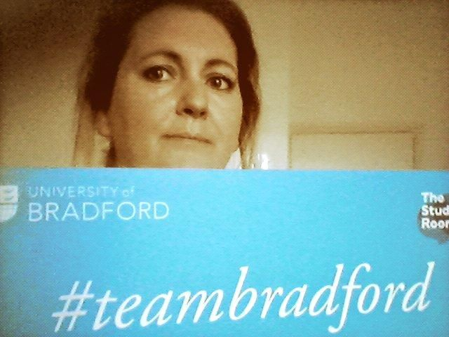 Kassandra sends her luck to everyone getting their A-level results. #resultsface #teambradford