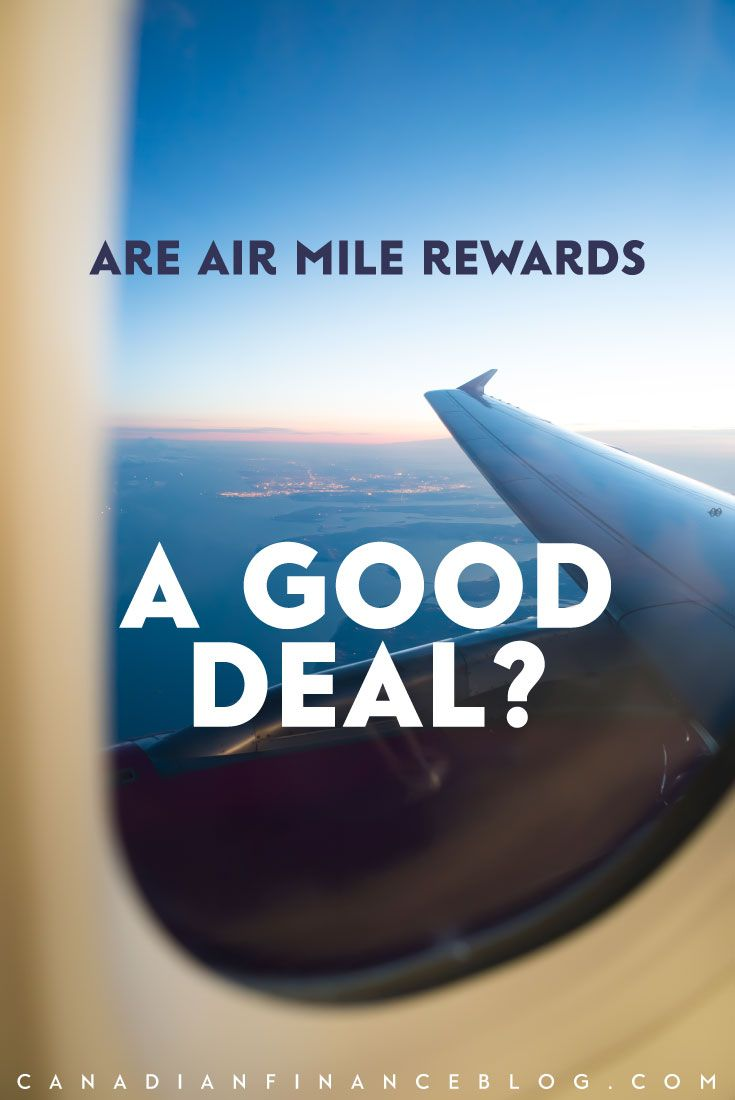 I've been collecting Air Miles rewards for quite some time but recently I took some time to analyze the benefits to see if Air Miles are really a good deal.