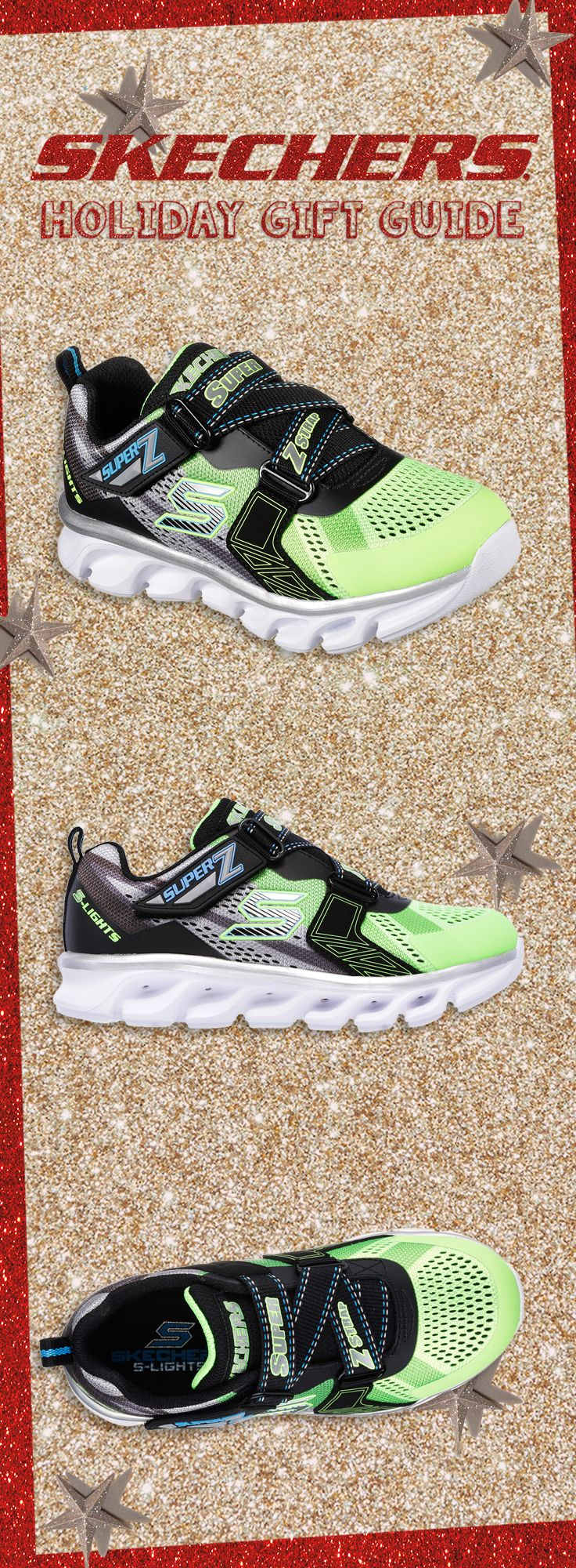 For the little super hero in your life… S Lights: Hypno-Flash! #SKECHERSkids