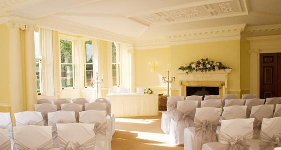 Holne Park House, Dawson room - ceremony room