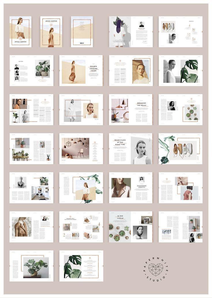 JOYCE Copper Magazine von Paperwhite Studio auf Cr…