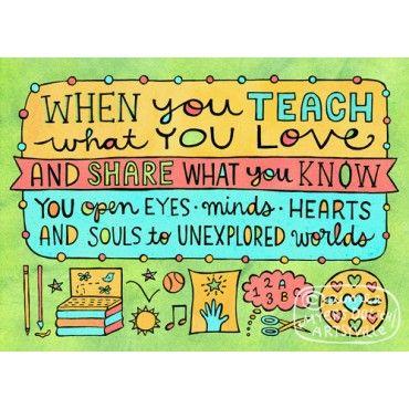 Teach What You Love