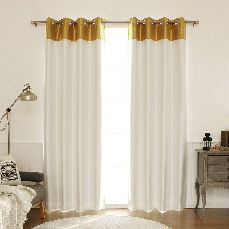 Best Home Fashion Topborder Faux Silk